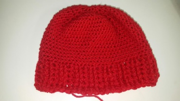 Wrong Stitch Used, which makes the Hat too Small