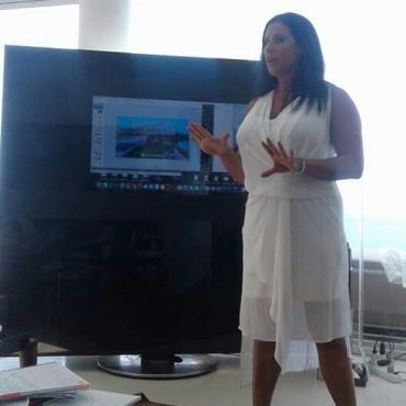 Rhonda presenting